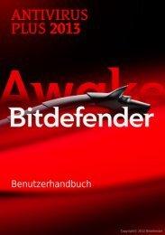 Benutzerhandbuch - BitDefender