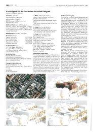 Kanzleigebäude der Deutschen Botschaft Belgrad - Duschl Ingenieure