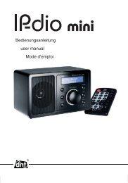 IPdio mini Bedienungsanleitung - Dnt