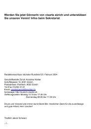 Bulletin 2004/01 - visarte zürich