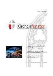 Kirchenfenster - Kirchenbezirk Geislingen