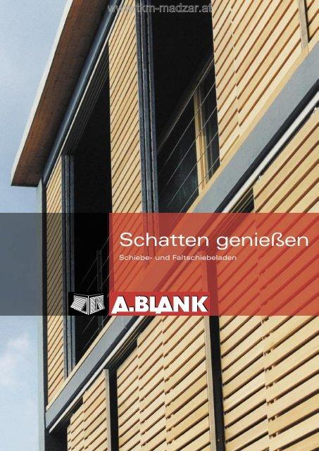Blank Schiebeladen Katalog - TKM Fenster