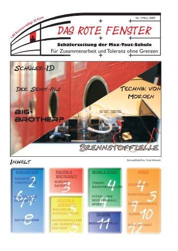 DAS ROTE FENSTER - OSZ Max-Taut-Schule in Berlin
