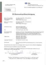 SIL EC-Type Test Zertifikat - Fritz Kübler GmbH Zähl- und ...