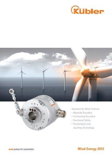 Solutions for Wind Turbines - Fritz Kübler GmbH Zähl- und ...