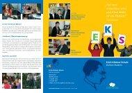 Unser aktueller Flyer - Erich Kästner Schule Dülmen-Buldern