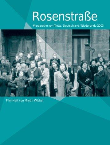 Rosenstraße – Ein Film - Bundeszentrale für politische Bildung