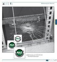 Bemessung und Sicherheit AbZ Z-70.3-85 - Pauli