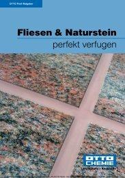 Fliesen & Naturstein perfekt verfugen - Oppold Polska Sp. z oo