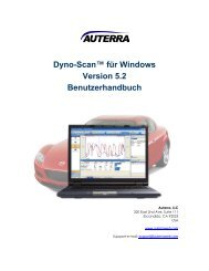 Dyno-Scan for Palm OS User Guide