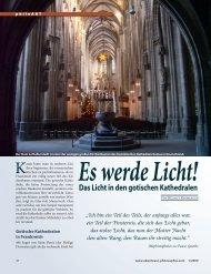 Das Licht in den gotischen Kathedralen - Abenteuer Philosophie