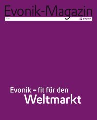 Evonik Magazin 3/2007 - Evonik Industries AG