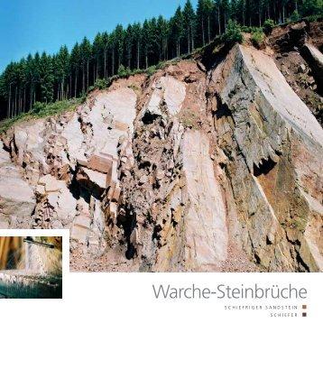 Warche-Steinbrüche - Pierres & Marbres de Wallonie