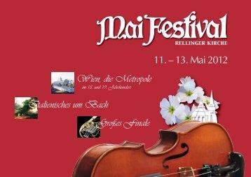 2012 - Verein zur Förderung der Musik an der Rellinger Kirche
