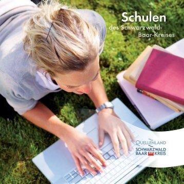 Schulen - Landratsamt Schwarzwald-Baar-Kreis