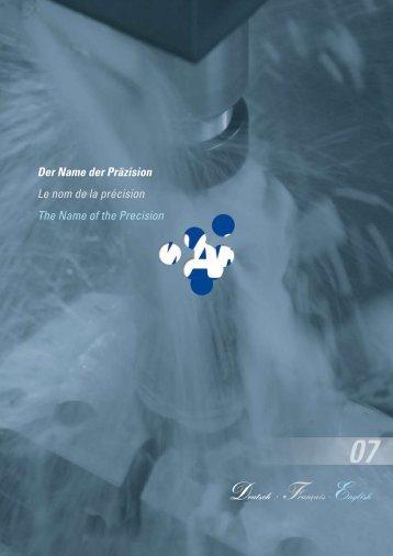 Der Name der Präzision Le nom de la précision The ... - Arms-cz