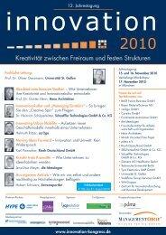 12. Jahrestagung www.innovation-kongress - PDMA - Product ...