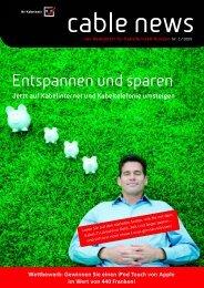 Newsletter 01 - GA Weissenstein