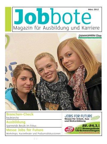 Magazin für Ausbildung und Karriere - Schwarzwälder Bote