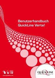 Benutzerhandbuch Quickline Verte! - GA Weissenstein