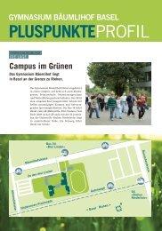 Das GB Lernzentrum - Gymnasium Bäumlihof