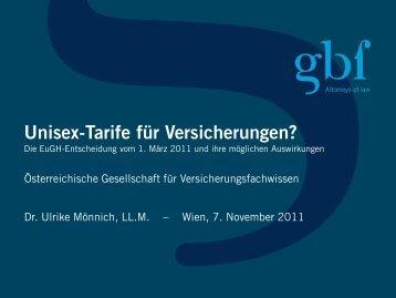 Unisex - gbf Legal