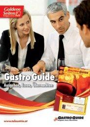 Gastro Guide - die rundum Informationsquelle für ... - TelAustria.at