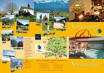 Unser Hausprospekt zum Download - Hotel Sonnenhof und ...