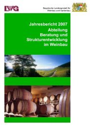 Abteilung Beratung und Strukturentwicklung im Weinbau