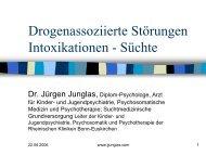 Drogenassoziierte Störungen Intoxikationen - Süchte - Psychoforum.de