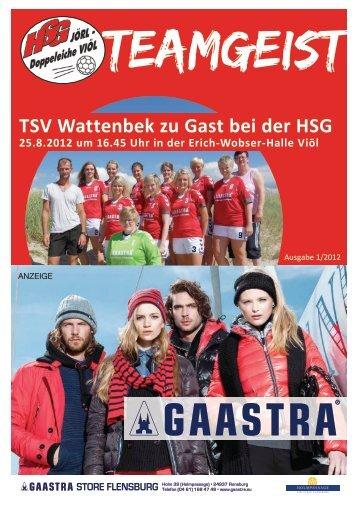 teamgeist - HSG Jörl – Doppeleiche Viöl