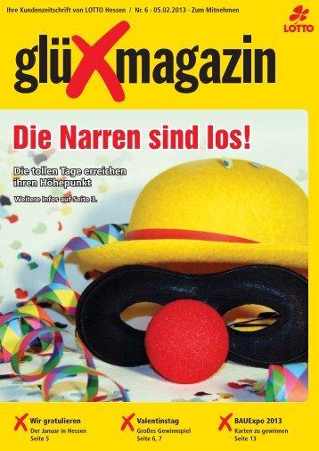 glüXmagazin 06/2013 - LOTTO-Hessen