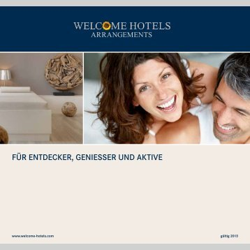 Broschüre als Download - Welcome Hotels