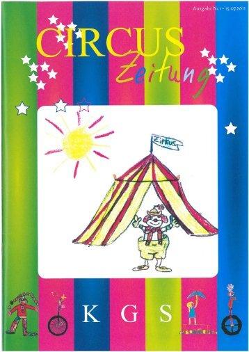 Download der Zirkuszeitung bitte hier klicken - Unsere KGS