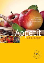 Flyer Appetit auf die Region - Infodienst Landwirtschaft - Baden ...