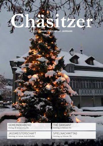 Chaesitzer 1/2013 [PDF, 6.00 MB] - Gemeinde Kehrsatz