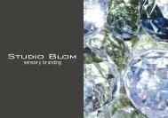 Studiopräsentation DE   pdf - STUDIO BLOM