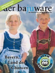 der baJUware 03/2008 - Junge Union Niederbayern