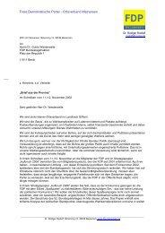 Freie Demokratische Partei - Ortsverband Meinersen - FDP Meinersen