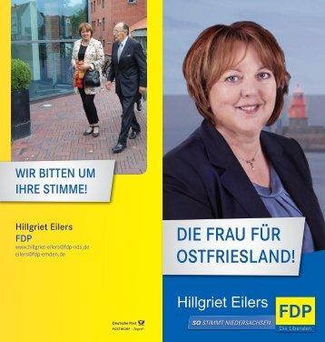 Flyer - Liberale Frauen Niedersachsen