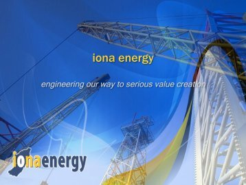 Investor Presentation: December 2012 Update - Iona Energy