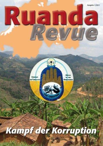 Kampf der Korruption - Partnerschaft Rheinland-Pfalz-Ruanda e.V.