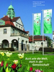 Bunt wie die Welt, stark in der Gemeinschaft - PSD Bank Hessen ...