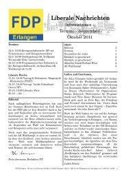 runterladen - FDP Erlangen