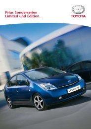 Prius Sonderserien Limited und Edition. - Garage Frey