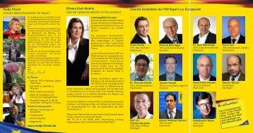 Für Bayern in Europa - FDP Neu-Ulm