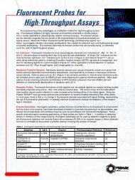 Fluorescent Probes for High-Throughput Assays - Molecular Probes
