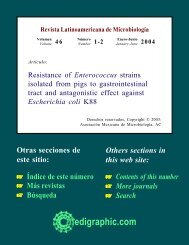 Resistance of Enterococcus strains isolated from pigs to - BVSDE ...