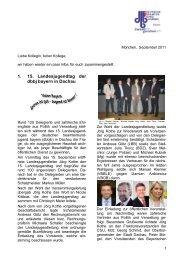 Info September 2011 - Jvb-bayern.de