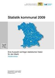 STATISTIK kommunal 2009 - Markt Holzkirchen